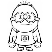 coloring gorgeous minion color sheets free pictures