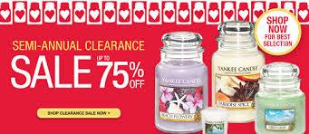 yankee candle semi annual sale 50 75 consumerqueen
