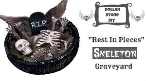 Halloween Skeleton Craft by Dollar Store Diy