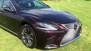 lexus flagship sedan the new lexus lc500 coupe and the flagship lexus ls youtube