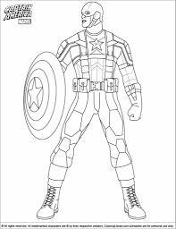 awesome captain america coloring regard