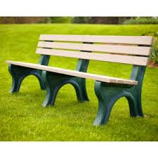 recycled plastic benches hayneedle