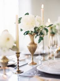 Vase And Candle Centerpieces by Best 25 Gold Vase Centerpieces Ideas On Pinterest Wedding