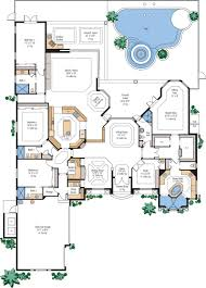 modern beach mansion floor plan