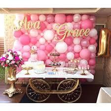 dessert table backdrop 45 awesome diy balloon decor ideas pretty my party