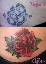 tattoo nightmares peacock cover up peony cover up tattoo before and after my work pinterest