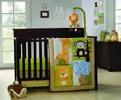 Nojo Jungle Crib Bedding by Baby Room Daring Image Of Unisex Baby Nursery Room Decoration