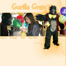 singing telegrams gorilla singing telegrams gift idea for those to buy for and