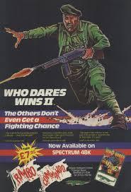 Last Poster Wins Ii New - who dares wins ii zx spectrum nostalgia nerd