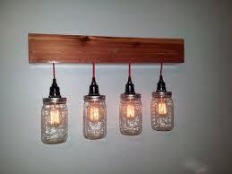 Vintage Style Vanity Lighting 310 Best Rustic Love Images On Pinterest Jar Lights Mason Jar