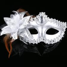 rhinestone masquerade masks italy venice feather masks princess mask mask side