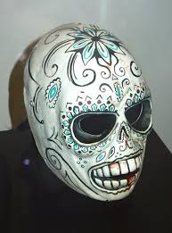 Day Of The Dead Mask Hollywood Movie Costumes And Props Salma Hayek U0027s Dress And Masks