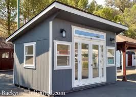 tiny house in backyard backyard ideas