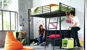 lit mezzanine et canapé beautiful photo lit mezzanine 2 places avec canape lit images