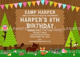 woodland themed birthday party ideas dimple prints