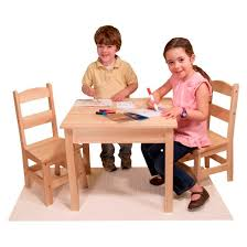 Target Table And Chairs Melissa U0026 Doug Solid Wood Table And 2 Chairs Set Light Finish