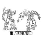 megatron coloring pages coloring page transformers 6232