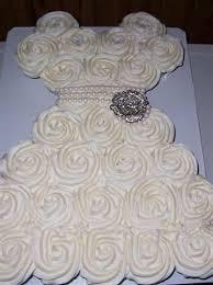 bridal cupcakes bridal shower cupcake dress bettycake s photo and other stuff
