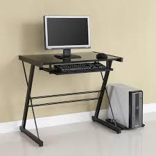 Small Metal Computer Desk Black Steel Desk Corner Pc Desk Walnut Computer Desk Modern Metal