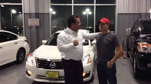 nissan altima 2016 customer review tom peacock nissan customer review ernesto g youtube