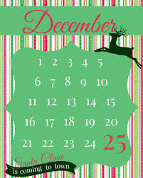 christmas countdown printable the taylor house