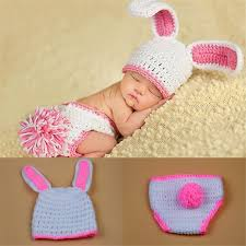 baby girl crochet easter rabbit newborn baby crochet knitted baby girl