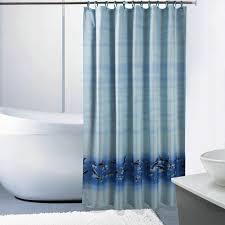 interdesign thistle fabric shower curtain 183 x 183 cm green dolphin theme bath shower curtain with hooks