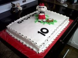 grayson u0027s georgia bulldog birthday cake cakecentral com