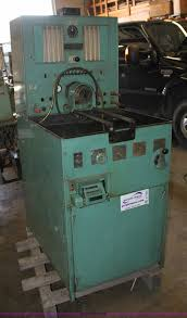 bacharach v7000 diesel fuel injection pump test stand item