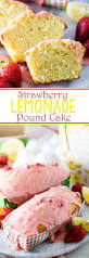 strawberry lemonade pound cake eazy peazy mealz