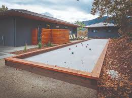 Build Your Own Backyard by Do It Yourself Build Your Own Backyard Bocce Ball Court 1859