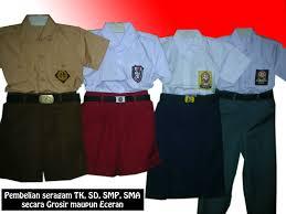 Seragam Sekolah Lengan Panjang pusat konveksi seragam murah konveksi seragam kerja seragam