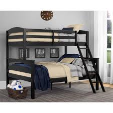 Black Wooden Bunk Beds Dorel Living Brady Black Wood Bunk Bed Fa6940bk