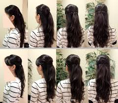 Hairstyle Diy by How To Make Hair Style In Home Best Hair Style 2017