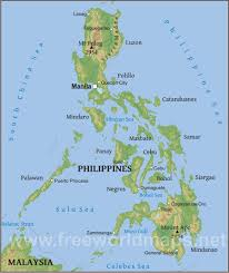 Map Of Guam Philippines Localityretics