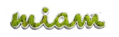 mot de cuisine objet décoratif mot lettre détouré en végétal stabilisé miam