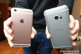 Iphone Home Button Decoration Htc 10 Versus Iphone 6s No Place Like Home Button Android Central