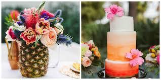 tropical wedding theme say aloha to a tropical wedding theme