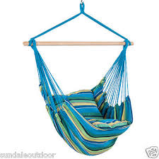 indoor outdoor hanging canvas hammock chair air swing tree