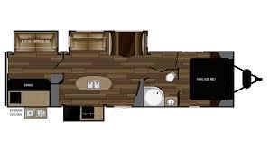 Salem Campers Floor Plans 2018 Cruiser Mpg 3300bh Model