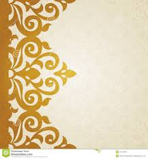 Design Patterns For Cards Vector Ornate Border In Victorian Style Stock Vector Image
