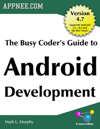 tutorial android pdf busy coder s guide to android development hd pdf