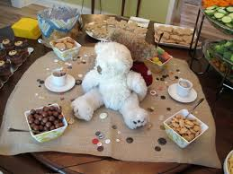 teddy centerpieces for baby shower baby shower theme idea my journey to lean