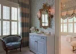 Vintage Drapery Fabric Vintage Damask Drapery Fabric Bedroom Traditional With Dresser