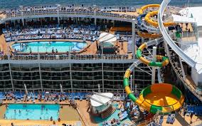 travel leisure images Cruise ship cabins aerial pools harmony of the seas age royal jpg