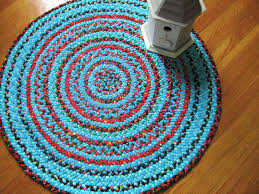Red Round Rug Sold Braided Rug Turquoise Red Black Large Round Maura Bee