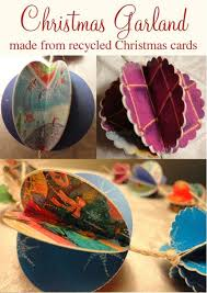 Old Christmas Cards Crafts - recycled christmas cards crafts part 28 holiday card ornaments