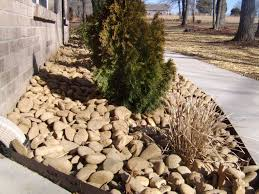 garden rocks ideas river rock landscaping los angeles river rock landscaping