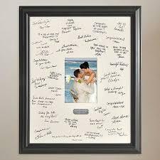 wedding signing frame guest book alternatives signature frames photo signature frames