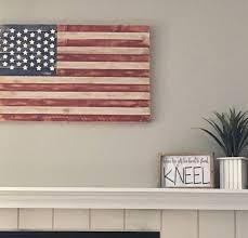best 25 wooden american flag ideas on pallet flag